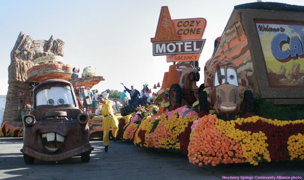 Disney Rose Parade Float 2013
