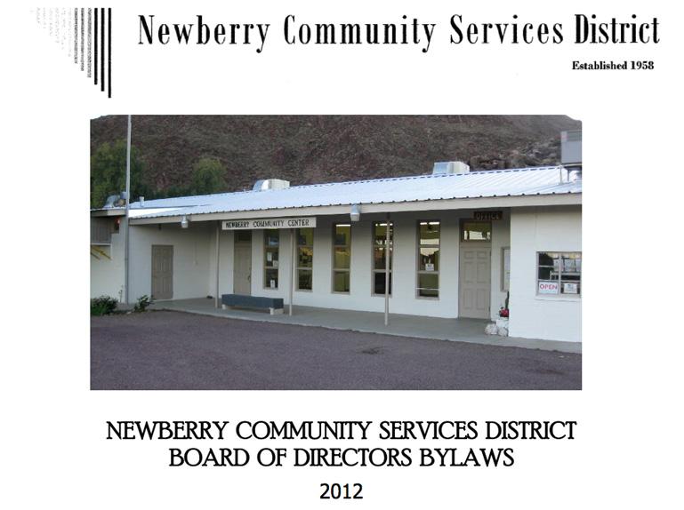 Newberry CSD