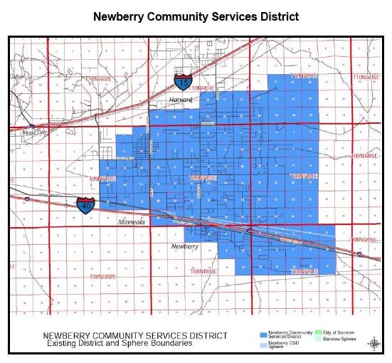 Newberry CSD boundaries.